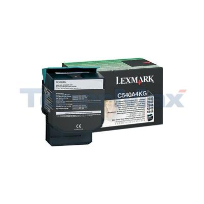 LEXMARK C54X/X54X TONER CART BLACK RP TAA